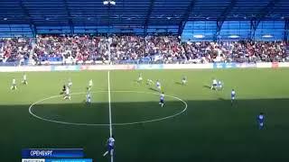 Смотреть видео ФК «Оренбург» обыграл на своем поле «Динамо» из Санкт Петербурга онлайн