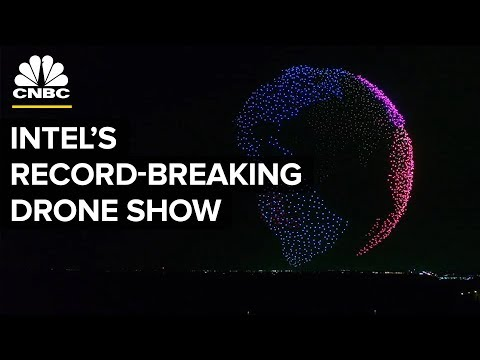 How Intel Made Its World Record-Breaking Drone Show | CNBC