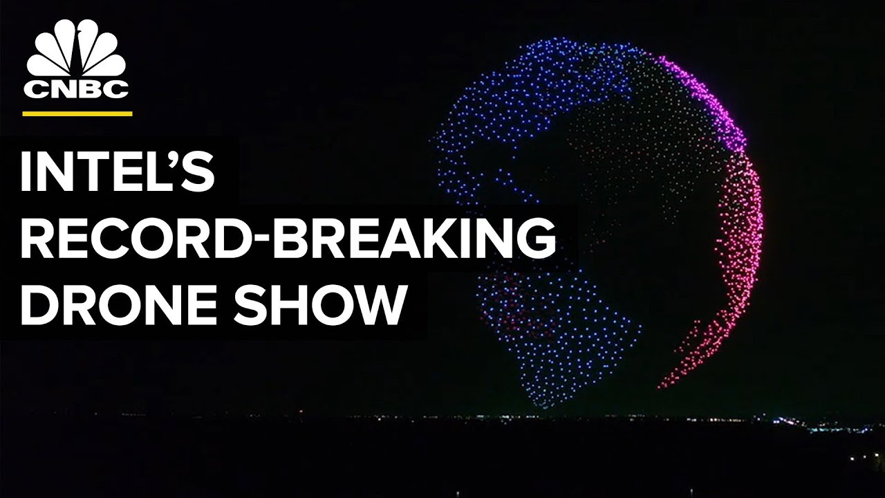 How Intel Made Its World Record-Breaking Drone Show