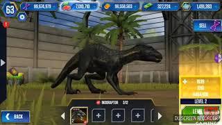Jurassic world the game (Special Episode) - MAX INDORAPTOR!! INDORAPTOR UNLOCKED!!!!