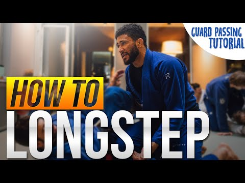 How to Longstep Pass (Powerful BJJ Guard Passing)