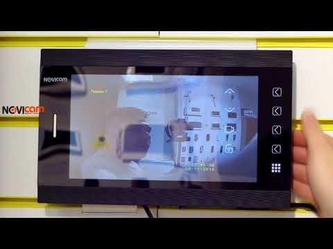 видео: Обзор Видеодомофонов novicam