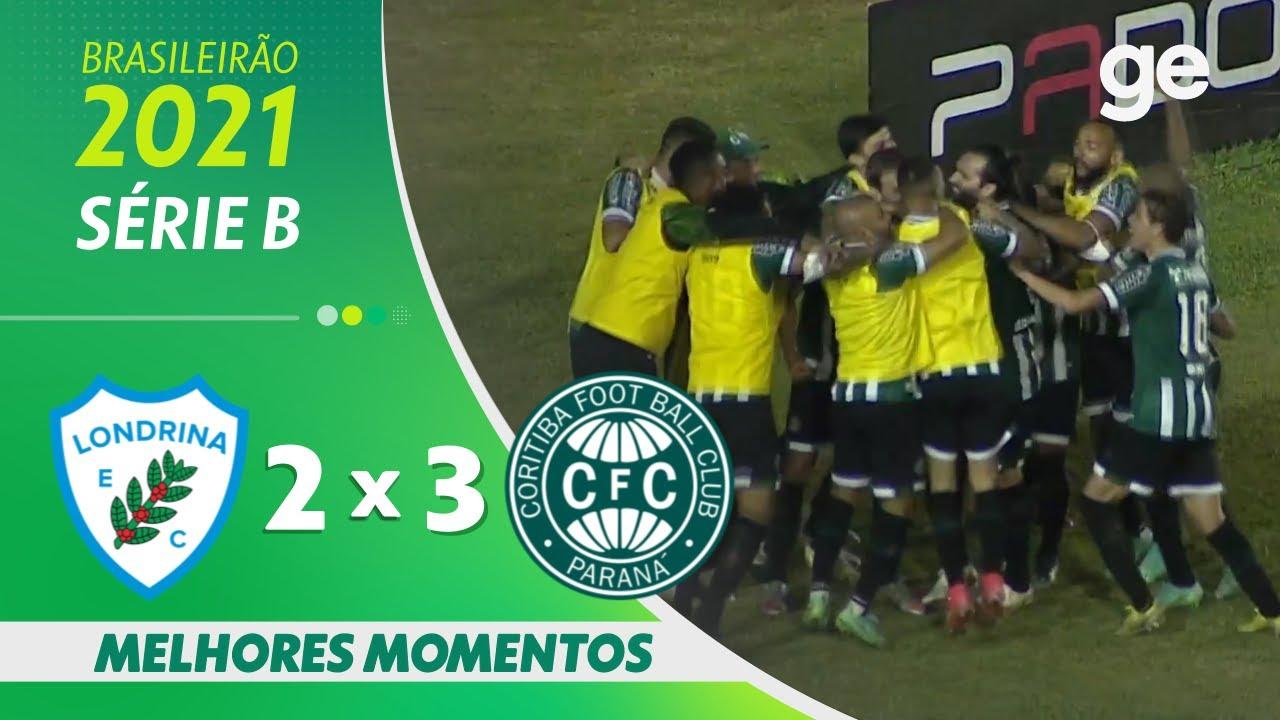 Download LONDRINA 2 x 3 CORITIBA | MELHORES MOMENTOS | 22ª RODADA BRASILEIRÃO SÉRIE B 2021 | ge.globo