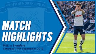 Highlights: PNE 2 Brentford 0