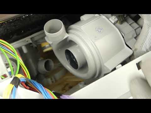 Wessper Heizpumpe Pumpe f/ür Bosch SMI69N75EU//97 Geschirrsp/üler