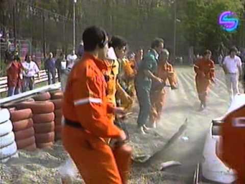 Yannick Dalmas 1992 World Sportscar Championship at Monza