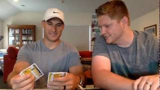Kirk Cousins Opens Brothers In Cards Pack Plus Program Box