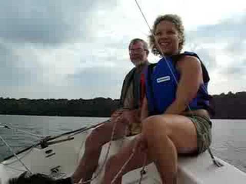 Sailing on Acton Lake