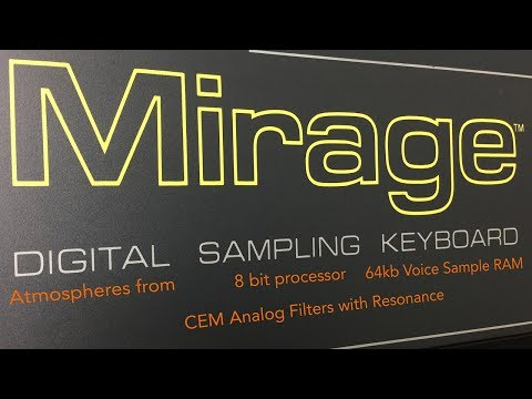 Mirage Atmospheres - Ensoniq Mirage (Australia/Asia Pacific Version)