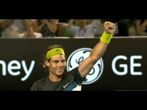 Australian Open 2009  Final Rafael Nadal vs Roger Federer 720HD