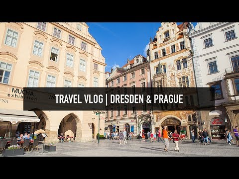 TRAVEL VLOG | Dresden & Prague