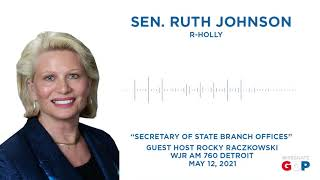 Sen. Johnson joins WJR to discuss SOS appointment system