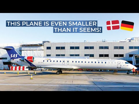 TRIPREPORT | Scandinavian Airlines (ECONOMY) | Copenhagen - Berlin Tegel | CRJ-900