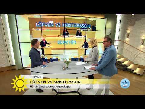 """""""Kristersson är en bättre debattör men det HÄR får han akta sig för"""" - Nyhetsmorgon (TV4)"""