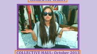 Collective Haul #5: Fashion and Beauty October 2013 II Clothed For Winter Thumbnail