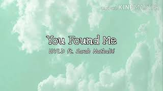 Play You Found Me