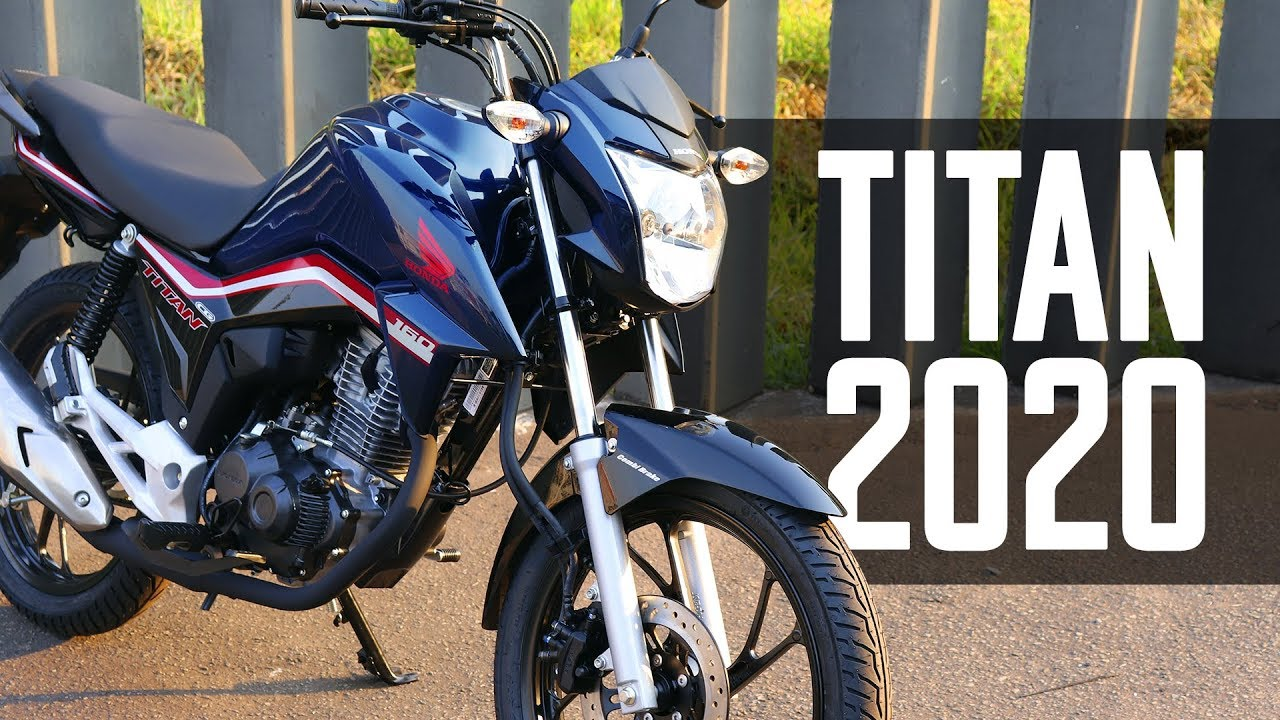 Titan 160 cinza 2020