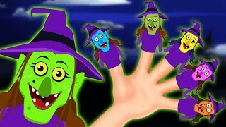 The Witch Finger Family | Scary and Fun Nursery Rhymes For Kids By Teehee Town