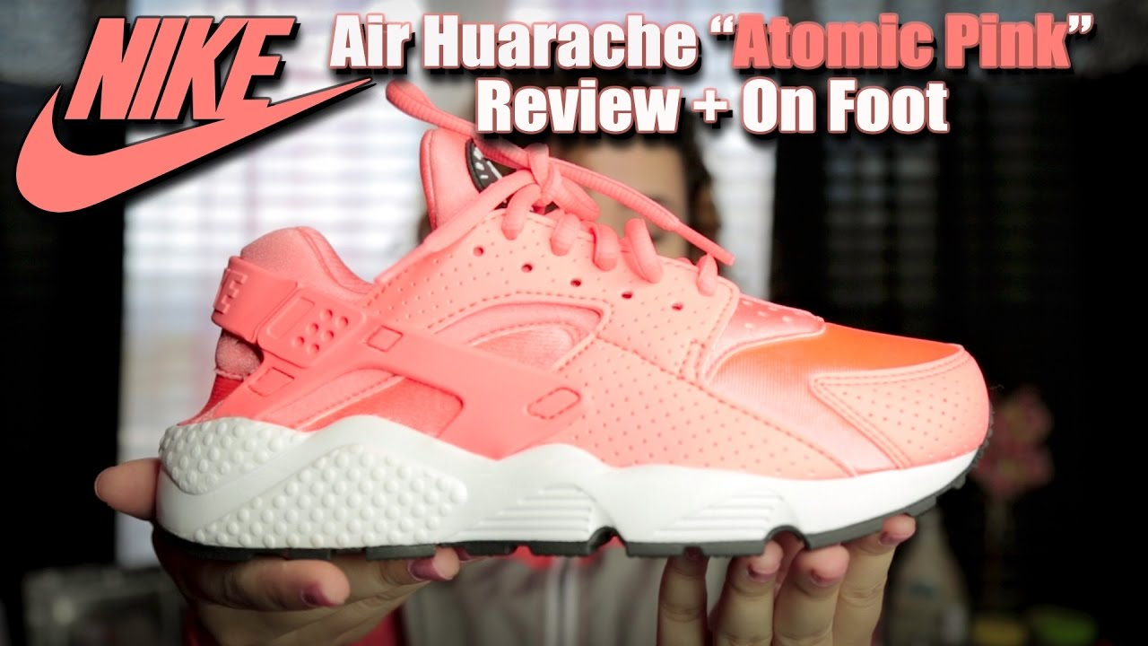 "432f0fb9873c NIKE AIR HUARACHE ""ATOMIC PINK"" REVIEW + ON FOOT - YouTube"