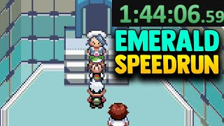 So I Tried To SPEEDRUN POKEMON EMERALD And This Is What Happened...
