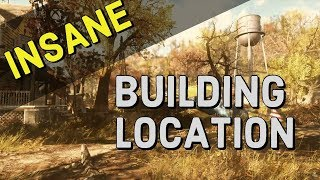 Best Area to Build in Fallout 76 | Building Basics | Unlimited Wood