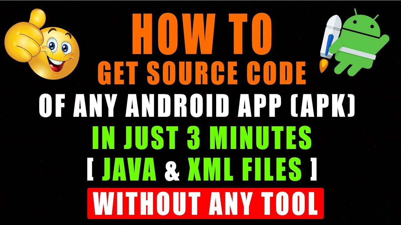 How To Get Source Code Of Any App [APK] Of Android – In Just 3 Minutes Without Any Tool 🔥  #Smartphone #Android