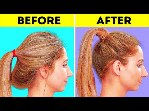 32 COOL HAIRSTYLE TRICKS AND HACKS