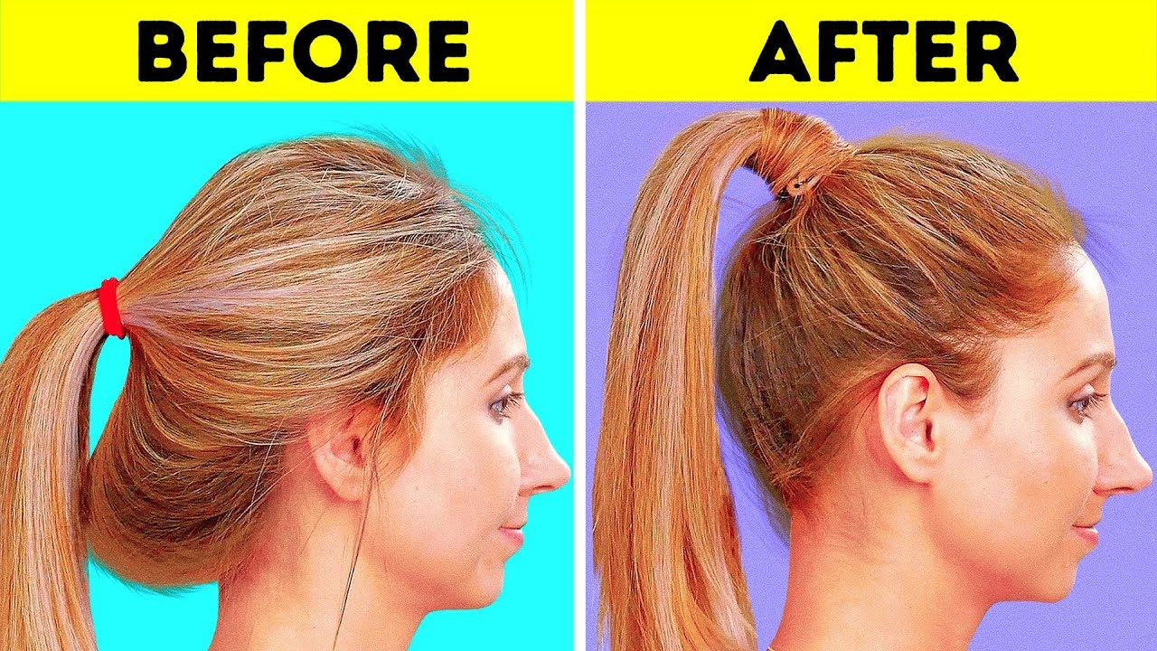 3 COOL HAIRSTYLE TRICKS AND HACKS
