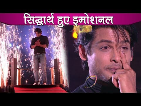 Bigg Boss 13 Finale: Siddharth Shukla Gets Emotional After Watching His Journey Video