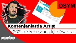 #sondakika İşte 2021 YKS Tercih Kılavuzundaki Toplam Kontenjanlar!