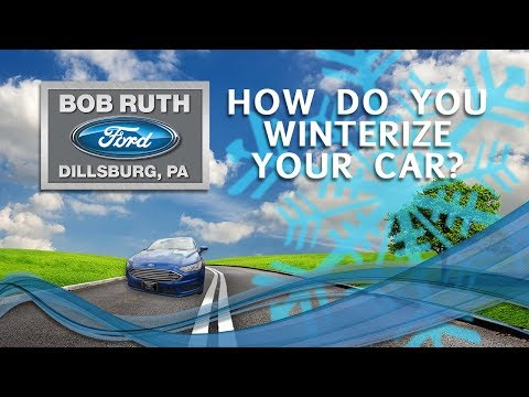 Bob Ruth Ford Is Here to Help Get Your Car Prepped for Winter