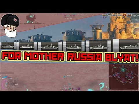 Moskva 24 Citadels ,stronk carry || World of Warships