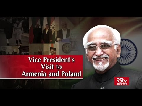 Vice President's visit to Armenia and Poland.
