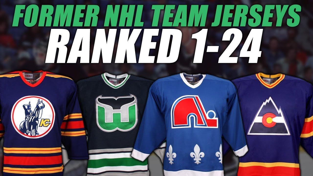 Former NHL Teams Jerseys Ranked 1-24 - YouTube a2caaaafbd0