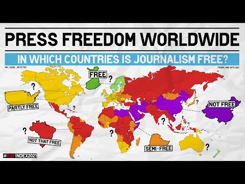 Press Freedom Index - In Which Countries Is Journalism Free?