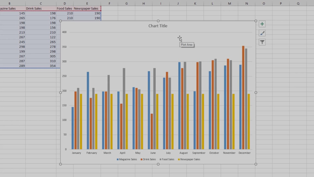 Add  trendline to chart in excel also youtube rh
