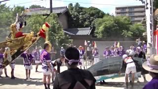 2015年 四日市市富田鯨船(北島組 神社丸)