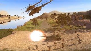 Full Scale Soviet Invasion of Afghanistan 1982 | Cold War Mod | Men of War: Assault Squad 2 Gameplay