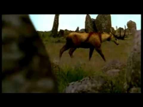 Cavemen Hunt into trailer