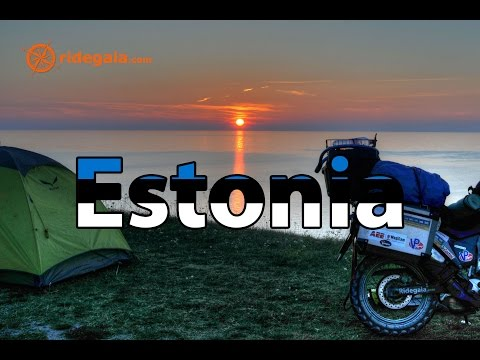 Ep 15 - Estonia - Motorcycle Trip Around Europe - Honda Transalp 700