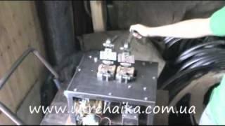 Экспериментальная машина сварки ленточных пил(Экспериментальная машина контактной стыковой сварки оплавлением ленточных пил. - The butt-welding by steel electric..., 2010-10-02T19:19:38.000Z)