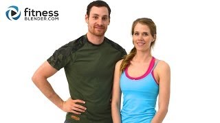 Pilates Abs, Butt and Thighs Workout - Low Impact Pilates Workout with Daniel and Kelli
