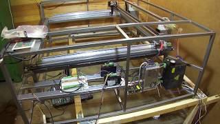 Лазерный станок CO2 своими руками ч 1. Co2 Laser Cutter