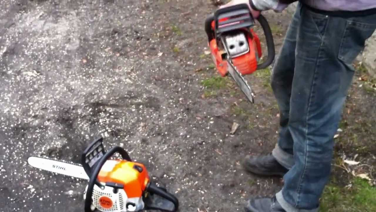 Stihl ms 211 vs husqvarna 435 sound engine youtube for Comparatif debroussailleuse stihl husqvarna