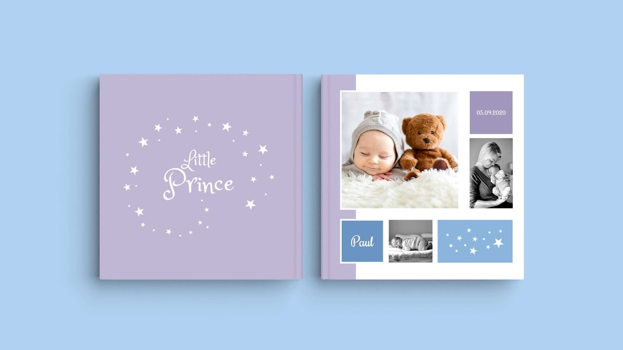 """Inspiration for Photobook cover design - """"Baby Paul"""""""