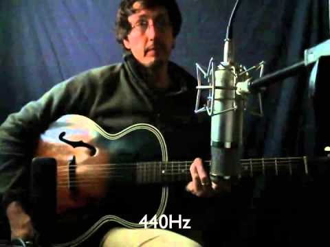 432Hz vs 440Hz on Guitar