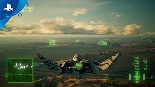 Ace Combat 7 Skies Unknown - Aircraft Customization Trailer