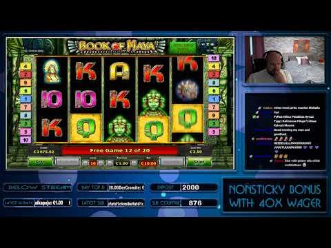 Big Win From Book Of Maya Slot At Ovo Casino!!