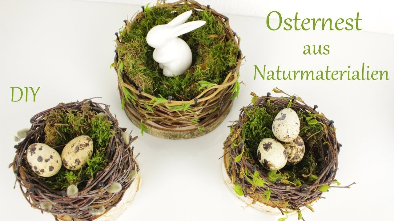 Osterdeko Aus Naturmaterialien : diy osterdeko osternest aus naturmaterialien ~ A.2002-acura-tl-radio.info Haus und Dekorationen