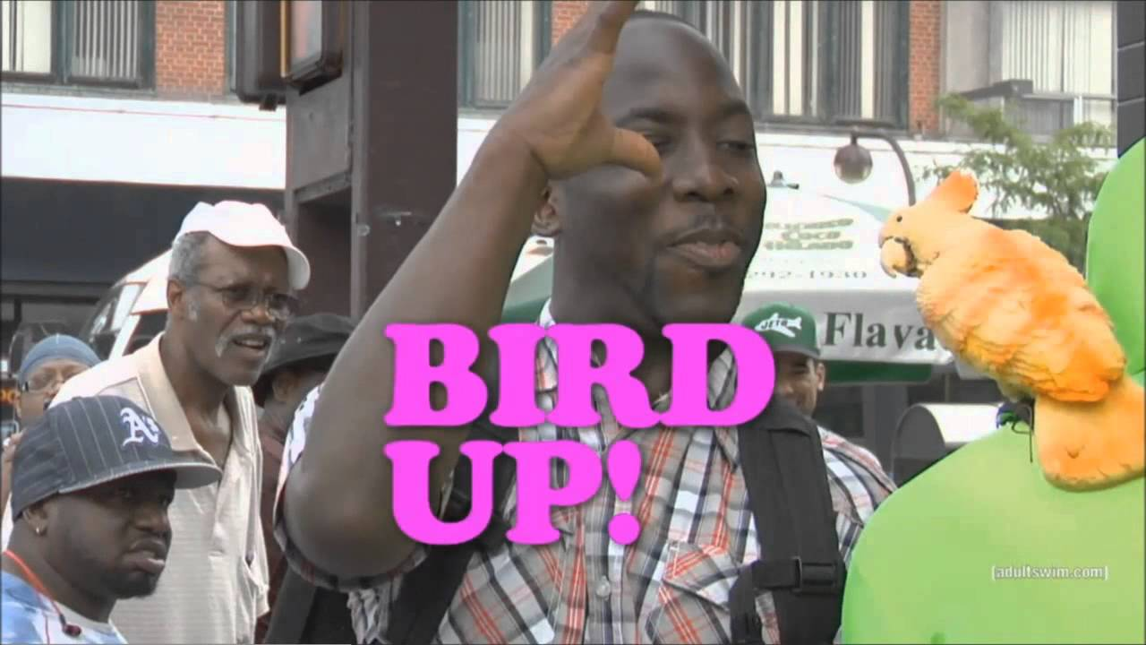 eric andre bird up youtube